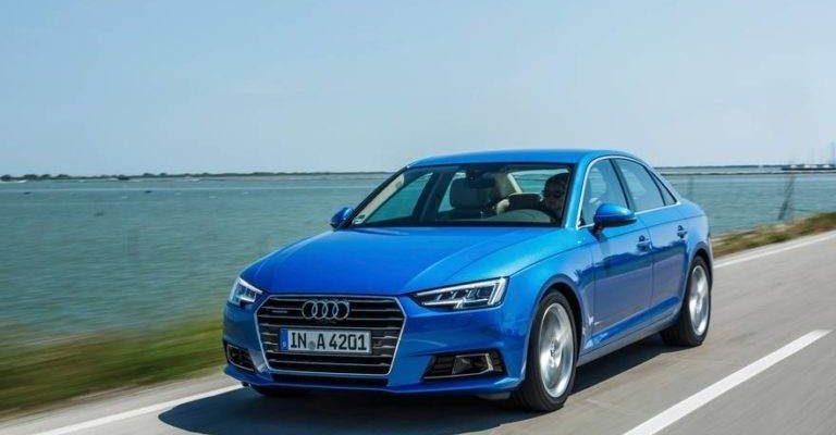 Аренда автомобиля Audi A4 в Крыму