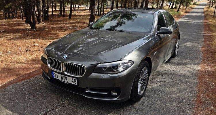 Аренда автомобиля BMW 520i в Крыму