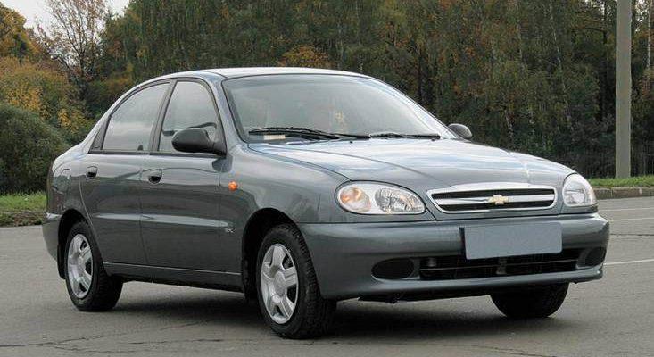 Аренда автомобиля Chevrolet Lanos в Крыму