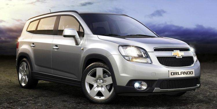Аренда автомобиля Chevrolet Orlando в Крыму