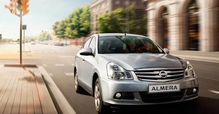 Прокат автомобиля Nissan Almera в Крыму