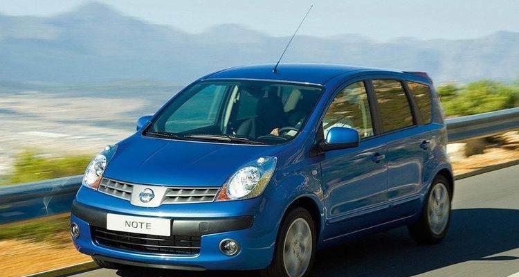 Аренда автомобиля Nissan Note в Крыму