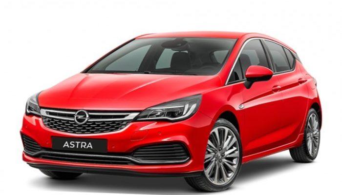 Аренда автомобиля Opel Astra в Крыму