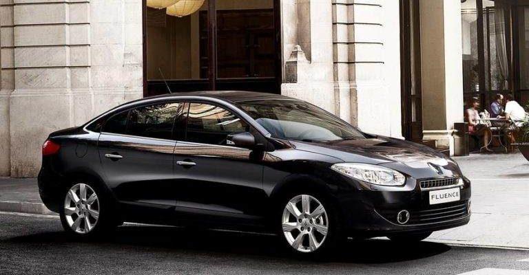 Прокат автомобиля Renault Fluence в Крыму