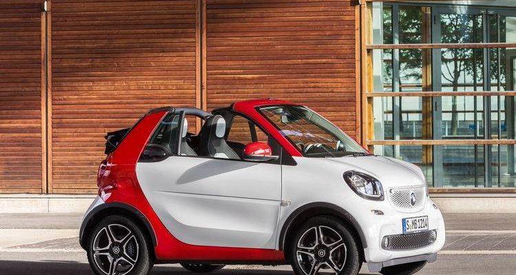 Аренда автомобиля Smart Cabrio New в Крыму