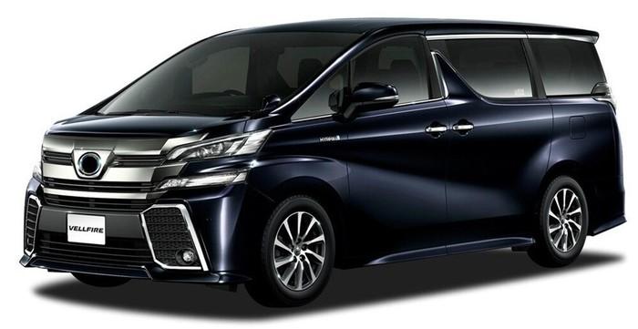 Аренда автомобиля Toyota Alphard в Крыму
