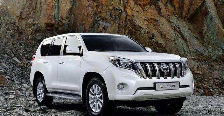 Аренда авто Toyota Land Cruiser в Крыму прокат Тойота Ленд Крузер
